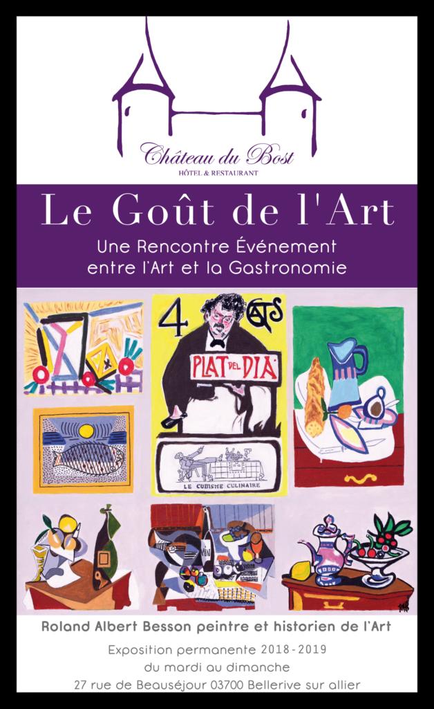 exposition au Château du Bost du peintre RAB